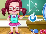 Baby Hazel Teacher Dressup Game