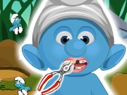 Baby Smurf Dentist Game