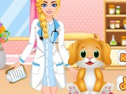 Pet Dentist and Doctor Game