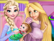Princesses Baby Room Decor Game