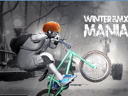 Winter BMX Mania Game