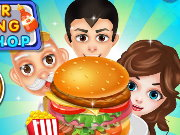 Burger Cooking Food Shop Game