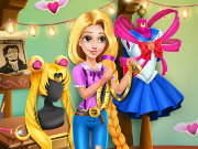 Rapunzel Sailor Moon Cosplay Game