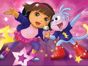 Dora Rocks Sing Along Game
