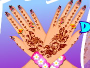 Mehndi Hand Decoration Game