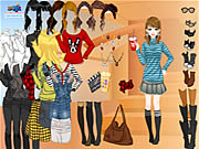 Rock Stripes Dressup Game