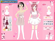 Love Bunnies Dress Up Game