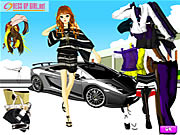 Uptown Girl Dressup Game