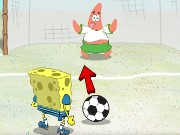 Spongebob Soccer Shootout Game