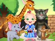 Baby Rosy And Tom Zoo Adventure Game