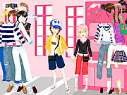 Shopping In Love Dress Up Game