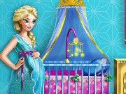 Pregnant Elsa Maternity Deco Game
