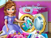 Princess Sofia Laundry Day Game