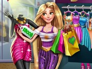 Rapunzel Realife Shopping Game