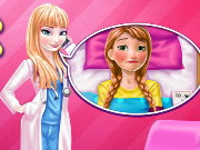 Elsa Doctor Taking Care Of Anna Game