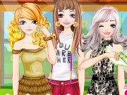 Fashion Summer Girls Game