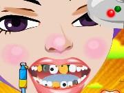 Maggie at Dentist Game
