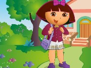 Dora at School DressUp Game