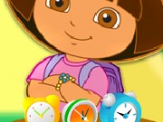 Dora Clocks Fun Game
