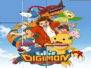 Digimon Jigsaw Puzzle Game