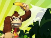 Donkey Kong Banana Barrage Game