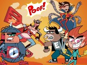 Fairly Odd Parents Big Super Hero Wish Game