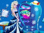 Elsa Closet Cleaning Game