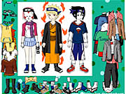 dressup carattere naruto