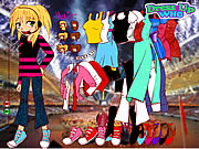 Hannah Montana Dress Up Game