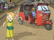 Tuk tuk Taxi Dash Game