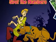 Scooby Doo Spot the Numbers Game