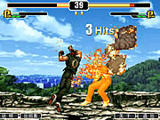 king of fighters combate a muerte