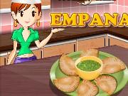 sara kochen empanadas spiel