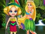 Forest Princess Spa Bath Game
