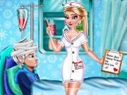 Elsa Doctor Fashion Game
