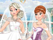 Frozen Sisters Double Wedding Game