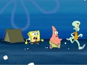 spongebob camping chaos spiel