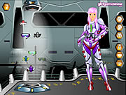 Claudia Space Girl Game