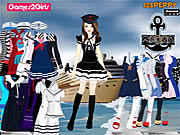 Tandy Sailor Girl Dressup Game Game