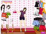 Summer Shopper Dressup Game