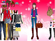 Winter Basics Dress Up Game