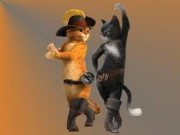 Puss in Boots Dancing Game