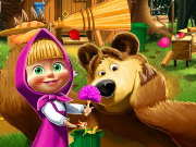 Masha and the Bear House Decoration Game
