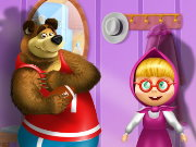 Masha and the Bear DressUp Game