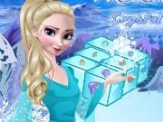 gefrorene elsa crystal match spiel