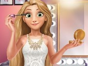 Blonde Princess Makeup Time Game