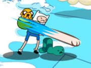Adventure Time Break The Worm Game