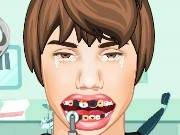 Justin Bieber at the Dentist Game