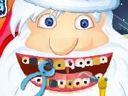 Santa at the Dentist Game