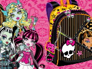 Design Your Monster High Backpack Game